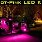 """HOT-PINK""  65-LED BULB KIT! Nissan Maxima 2009-2010-11"