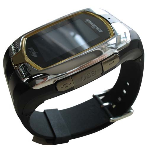 Watch Mobile Phone M860 - The first Dual SIM Dual Standby mobile watch