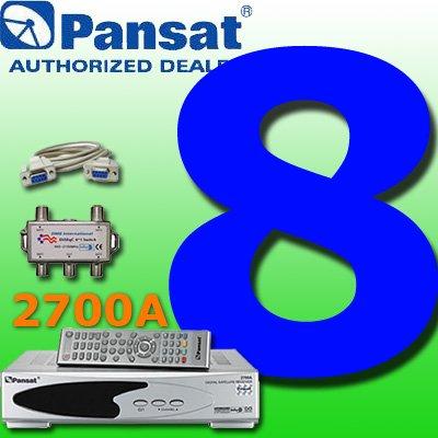 8 UNIT: Pansat 2700A Receiver B-75