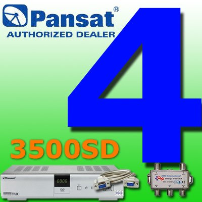 4 UNIT: Pansat 3500SD Receiver B-80