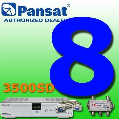 8 UNIT: Pansat 3500SD Receiver B-80