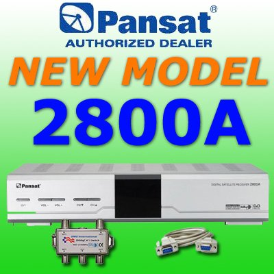 2 UNIT: Pansat 2800A Receiver ($134.99 each)