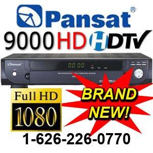 1 UNIT: Pansat 9000 High Definition (PROMO PRICE - Retails $399)