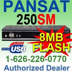 PANSAT 250SM Receiver (SPECIAL PRICE, Retail $199.99)