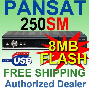 2 UNIT: PANSAT 250SM Receiver