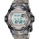 Casio Baby-G BG169R-8 whale series women's watch Transparent/Translucent Grey | wolfecouture