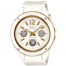 Casio Baby-G BGA151-7B women's watch White | wolfecouture