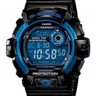 Casio G-Shock G8900A-1 men's watch Black / Blue | wolfecouture