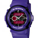 Casio G-Shock G300SC-6A Street Culture analog-digital watch purple | wolfecouture