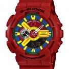 Casio G-Shock GA110FC-1A men's watch Red | wolfecouture