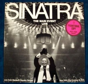 "FRANK SINATRA    "" The Main Event - Live ""   1974 LP"