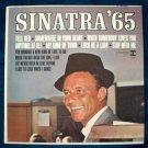 """FRANK SINATRA  """" Sinatra '65 """"    1965 LP"""