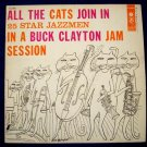 """BUCK CLAYTON  """" All The Cats Join In """"  1956 Jazz LP"""