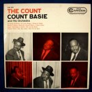 "COUNT BASIE  "" The Count ""   1958 Jazz LP"