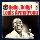 "LOUIS ARMSTRONG  "" Hello Dolly ""  1964 Jazz LP"