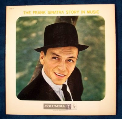 The FRANK SINATRA STORY IN MUSIC   1958 Double LP