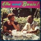 """ELLA FITZGERALD / COUNT BASIE  """" Ella And Basie!""""   1963 Jazz LP"""