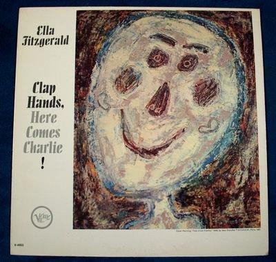 "ELLA FITZGERALD  "" Clap Hands, Here Comes Charlie!""  1962 Jazz LP"