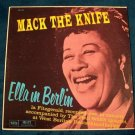 "ELLA FITZGERALD  "" Mack The Knife ~ Ella In Berlin ""  1960 Jazz LP"