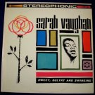 "SARAH VAUGHAN   "" Sweet, Sultry, And Swinging ""  1960's Jazz LP"