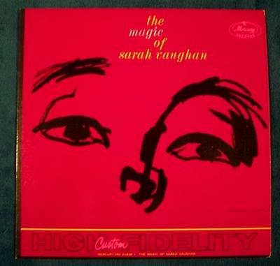 """SARAH VAUGHAN   """" The Magic of Sarah Vaughan """"  1959 LP"""