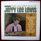 "JERRY LEE LEWIS      "" The Golden Hits ""   1964 LP"