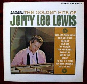 JERRY LEE LEWIS &quot The Golden Hits &quot 1964 LP