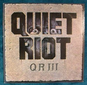 QUIET RIOT &quot QR III &quot 1986 Thrash Metal LP