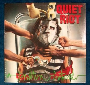 QUIET RIOT &quot Condition Critical &quot 1984 Thrash Metal LP