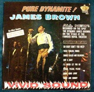 JAMES BROWN &quot Pure Dynamite &quot 1966 Soul LP