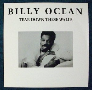 "BILLY OCEAN   "" Tear Down These Walls ""   1988 R&B LP"