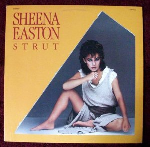 SHEENA EASTON quot; Strut quot; 1984 12quot; single Dance Mix