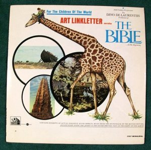 THE BIBLE 1966 Movie Soundtrack LP