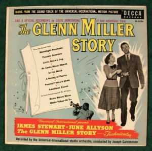 the glenn miller story 1956 movie soundtrack lp