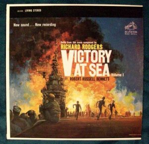 VICTORY AT SEA Volume 1 1959 NBC TV LP