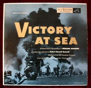 VICTORY AT SEA Volume 1 1954 NBC TV LP