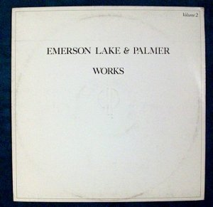 EMERSON LAKE & PALMER &quot Works II &quot 1977 Prog Rock LP