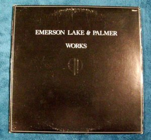 "EMERSON, LAKE & PALMER     "" Works I ""    1977 Prog Rock LP"