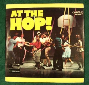 AT THE HOP 1975 3 Record Set Various Artists 50& 39 s