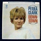 """PETULA CLARK   """" Downtown """"   1965 Pop Rock LP"""