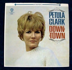 PETULA CLARK &quot Downtown &quot 1965 Pop Rock LP