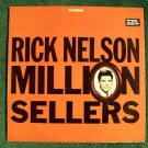 "RICK NELSON  "" Million Sellers ""   1964 Rock 'n' Roll LP"
