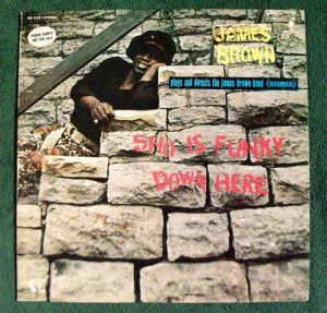 JAMES BROWN &quot Sho Is Funky Down Here&quot 1971 LP Soul