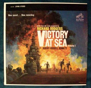 VICTORY AT SEA Volume 1 1959 LP quot;Living Stereoquot;