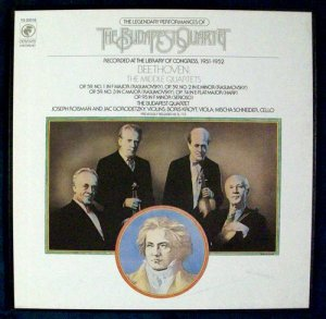 BEETHOVEN THE MIDDLE QUARTETS 3 Record Boxed Set