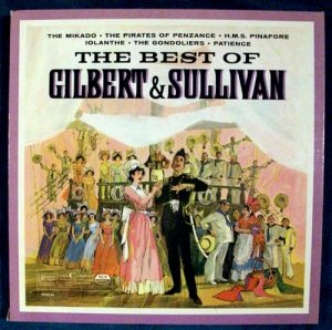 THE BEST OF GILBERT & SULLIVAN 3 LP Boxed Set
