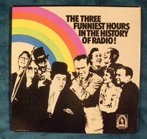 THREE FUNNIEST HOURS IN RADIO HISTORY 3 LP Boxed Set