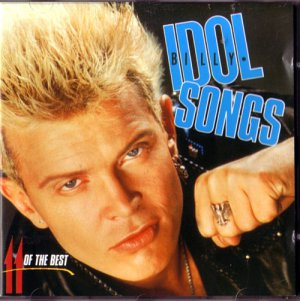 BILLY IDOL &quot Idol Songs &quot Punk Rock CD