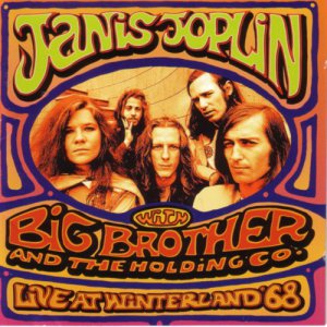 JANIS JOPLIN &quot Live At Winterland & 39 68 &quot Rock CD