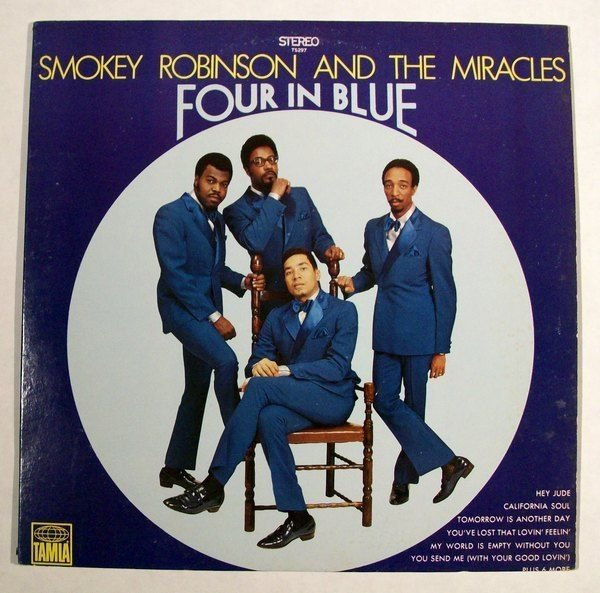 SMOKEY ROBINSON & THE MIRACLES Four In Blue 1979 R&B LP